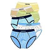 LeQeZe 6 Pack Kinder Jungen Boxershorts Unterwäsche Junge Boxer Unterhose Baumwolle Schlüpfer 2-11 Jahre Größe 86-146 (Junge Briefs 04, 2-3Jahre)