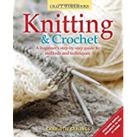 Knitting & Crochet: A Beginner's Step-by-Step Guide to Methods and Techniques - Design Patterns Knitting