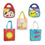 Fully 5stk. Kinder Handwerk DIY Basteln Handtasche Tasche