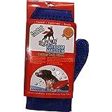 Super Rubber Bath Glove for Dogs / Blue Color