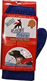#6: Super Rubber Bath Glove for Dogs / Blue Color