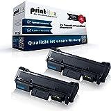 2x Kompatible Tonerkartuschen für Samsung Xpress M2835 DW Premium Line Xpress M2875 FD Doppelpack MLT-D116L/ELS 116S MLTD116LELS MLT D116 MLT-D116SELS MLT 116 ELS Schwarz Black