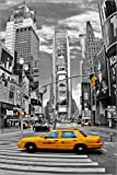 Posterlounge Acrylglasbild 60 x 90 cm: New York Times Square von Marcel Schauer - Wandbild, Acryl Glasbild, Druck auf Acryl Glas Bild