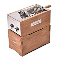 BOCABOCA Coffee Bean Roaster 500 Home Roasting Machine with Cooler Nuts Barista Home Kitchen Cafe 220V & JISAM TRADE Simple English User's Guide.