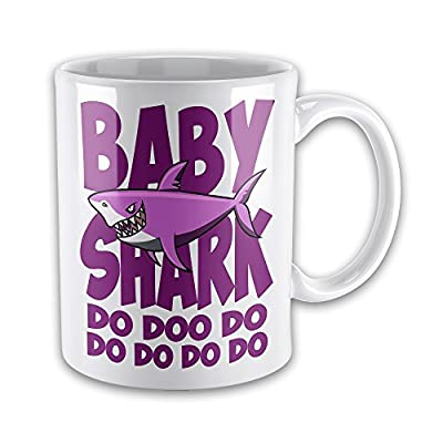 Baby (Pink) Shark Do Doo Do Funny Novelty Gift Mug