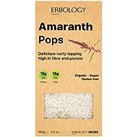 Amaranto Hinchado Bio 100g - Rico en Proteínas, Fibra y Minerales - Sin Gluten