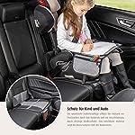 51ccRnImdNL._SS150_ reer Kindersitz-Unterlage TravelKid Protect, rutschfeste Unterlage, ISOFIX geeignet, für alle herkömmlichen Modelle, grau
