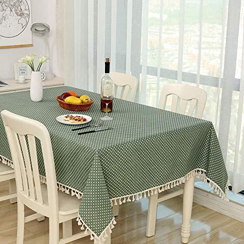 Qige tovaglie tovaglia tovaglia su misura di cotone e lino personalizzata piccola tovaglia rotonda fresca cena da caffè rettangolare home hotel @ 4_140x180cm