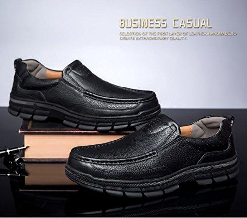Gli Mostra Mette Business Di Pigri In Dimensioni Scarpe A Di Grandi Vestito Linyi Neri Nuovo Per Mano Uomini IqtZwvnn7