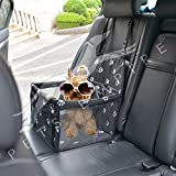 #7: Pets Empire Waterproof Breathable Pet Car Mat Safety Car Seat Belt Cover Booster Bag Pet Carrier Seat Protector Travelling Car Cushion for Dog Cat Pet Color May Vary