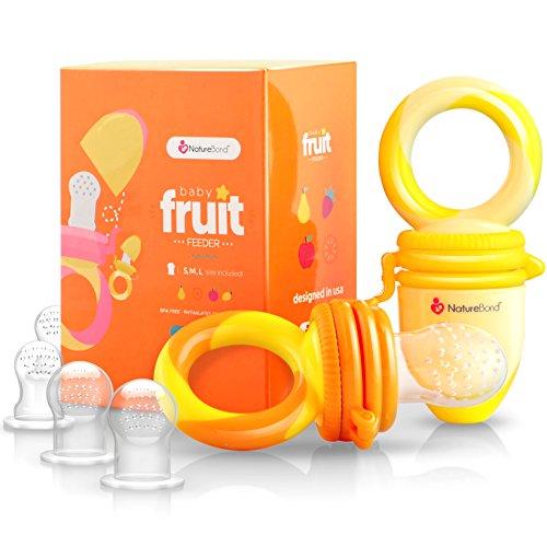 Chupete con compartimento para alimentos para bebé, 2 unidades, colores...