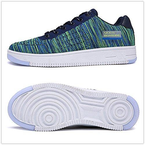 CENRO - Low-top Uomo Verde/Blu