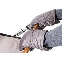 Biddy Kinderwagen Handwärmer I Kinderwagen Handschuhe I Handmuff für Kinderwagen - Kinderwagenmuff mit Reflektor extra warm …