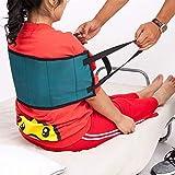 Versatile cinghia di trasferimento del paziente, cintura imbottita Medical medica con manici, assistenza aiuto per disabili, handicap, arti inferiori del display pazienti hbz09-f