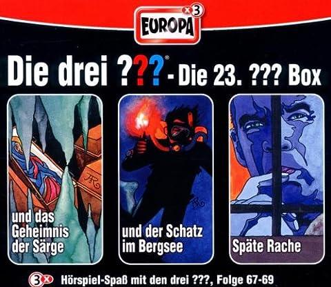 Die Drei Fragezeichen 3 ??? CD 23. Box 67 68 69 23/3er