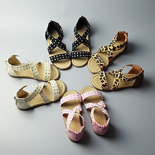 Scothen Les filles sandales sandales strappy été chaussures sport sandales chaussures plage sandales spartiates chaussures princesse flip-flops sandales enfants espadrilles Chaussures ballerine Rose