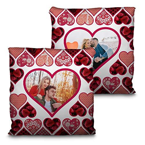 b75608aa0f Cuscino di San Valentino. Personalizzato con la Tua Foto. Dimensione 35 cm.  Vari
