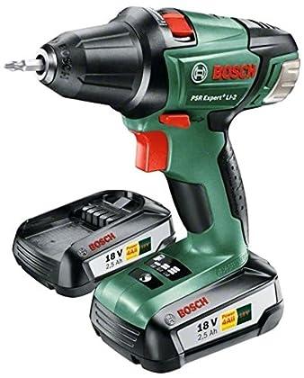 Bosch Bricolaje - 06039A3109 - Psr Expert Li-2 (18V) (2 Bat.) Atornillador Con Batería De Litio