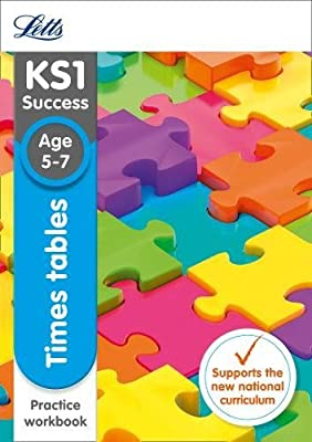 Letts KS1 Revision Success - New Curriculum – Times Tables Ages 5-7 Practice Workbook by Letts