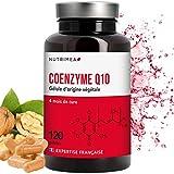 COENZYME Q10 NATURELLE - 120 Gélules Végétales à 100 mg - Puissant Anti-oxydant Protecteur Anti-âge et Energie Cellulaire - Fabrication Française- Satisfait ou Remboursé