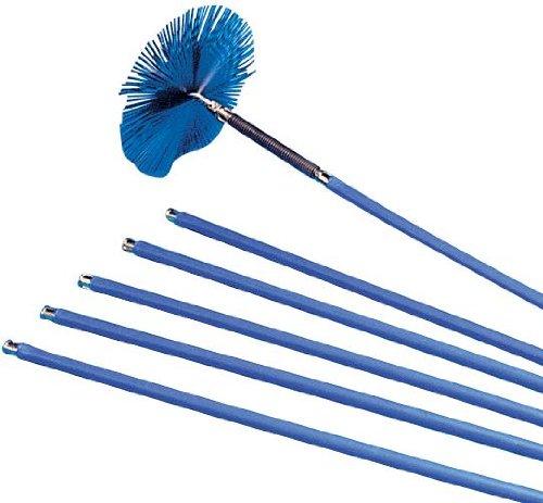 Maurer, Scovolo per canna fumaria, allungabile (6 sezioni), larghezza 25 cm - Sezione Kit