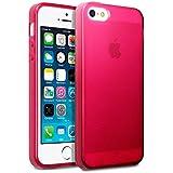Terrapin Gel-Schutzhülle für iPhone iPhone 5/5S/SE, Transparent Rot