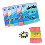 #5: Wonder Sponge Wipes Large (Pack of 5) and Cleaner Mesh Worth Rs.42 (Pack of 1) for FREE Super Saver Pack