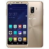 BLUBOO S8 4G Smartphone 5,7 Zoll 18: 9 HD + Display, Android 7 Octa-Core 3GB RAM+32GB ROM, Dual-Rückfahrkamera 16MP + 3MP Frontkamera 8MP 3450mAh Batterie Fingerabdruck, Dual SIM Ohne Vertrag