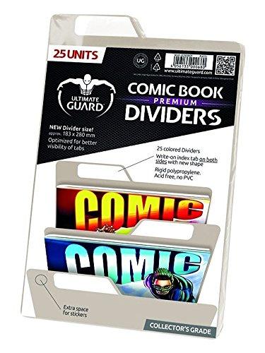 Ultimate Guard Premium Comic Book Intercalaires (Lot de 25, Sable)