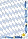 Briefpapier Bayern Raute und Edelweiss DIN A4 90 g/m² 5801-A4 (100 Blatt)