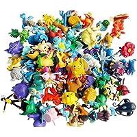 Desconocido Wholesale Mixed Lots 24pcs Pokemon Mini Random Pearl Figures New Hot Kids Toy