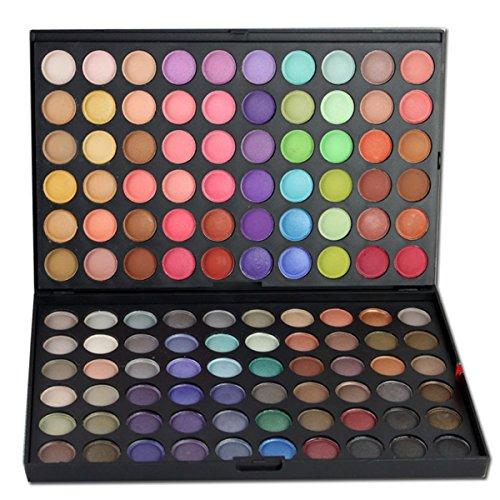 Palette de Fard à paupières, FantasyDay 120 Couleurs Professionnelle Shimmer Matte Ultra Pigmenté Bases de Ombre à paupières Maquillage Palette Cosmétique Set - Eyeshadow Makeup Beauty Kit #3