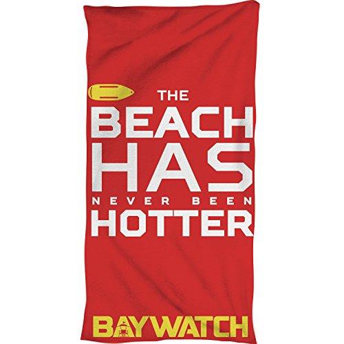 Baywatch Strandlaken Zum Baywatch Film Original I Größe 80x160 cm Baumwolle Beach Has Never Been Hotter