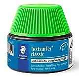Staedtler Refill station, Flacon de recharge pour surligneurs vert fluo, Compatible avec le Textsurfer Classic 364, Flacon de 30 ml, 488 64-5