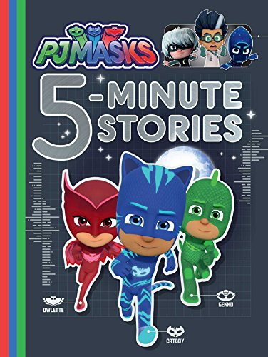 Pj Masks 5-Minute Stories por Various
