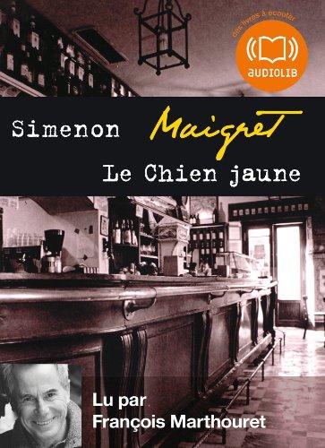 Le Chien jaune: Livre audio 1 CD MP3 - 421 Mo