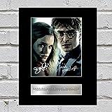 Emma Watson e Daniel Radcliffe, con autografo Hermione Granger Harry Potter