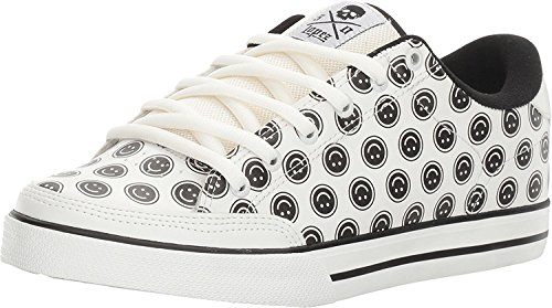 C1RCA Lopez 50 Unisex-Erwachsene Sneakers White/Smiley