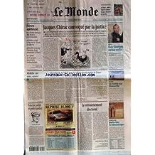 MONDE (LE) [No 17473] du 29/03/2001 - FIEVRE APHTEUSE - JACQUES CHIRAC CONVOQUE PAR LA JUSTICE - PROCES - GUY GEORGES AVOUE ENFIN - SOULAGEMENT DES FAMILLES DES VICTIMES - MICHELIN - AUX URNES, SALARIES ! - A LA RECHERCHE DE L'UCK, DANS LES VILLAGES DESERTS AUTOUR DE TETOVO PAR CHRISTOPHE CHATELOT - EVASION - LA VERITE SUR DEAUVILLE - POLICIER PREFET ET PREFET POLICE - PHILIPPE MASSONI - LE RETOURNEMENT ELECTORAL PAR JEROME JAFFRE - ARCHITECTURE - BERLIN FETE LE NEOCLASSIQUE.