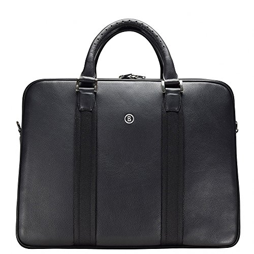 Bogner New Official Taras Serviette Attaché-case cuir 42 cm compartiment ordinateur portable