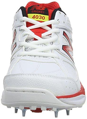 New balance cK4030AV cricketschuhe d pour homme Blanc (White)