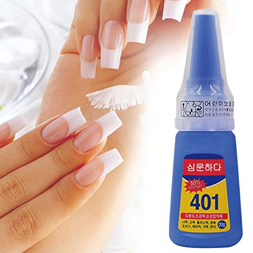 Multifunctional 401 Instant Adhesive 20g Super Strong Liquid Glue Home  Office School Nail Beauty Supplies For Wood Plastic