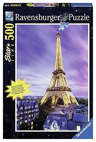 Ravensburger - 14898 - Puzzle Tour Eiffel 500 Pièces Starline