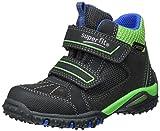 Superfit Jungen SPORT4 Hohe Sneaker, Schwarz (Charcoal Multi), 40 EU