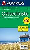 Ostseeküste von Lübeck bis Dänemark: Wanderkarten-Set mit Radrouten und Reitwegen. GPS-genau. 1:50000 -