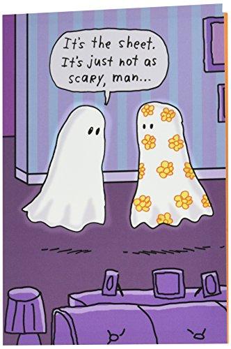 ghost-Funny Halloween Grußkarte mit 12,7x 17,8cm Umschlag von Nobleworks ()