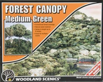 Woodland Scenics Forest Canopy, Medium Green WOOF1661 by Woodland Scenics