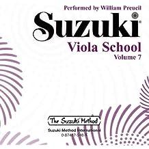 Suzuki Viola School, Vol 7 (Suzuki Method Core Materials)