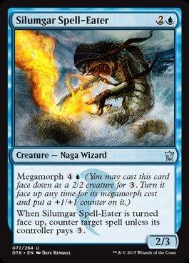 Magic: the Gathering - Silumgar Spell-Eater - Divoramagie Silumgar - Dragons of Tarkir
