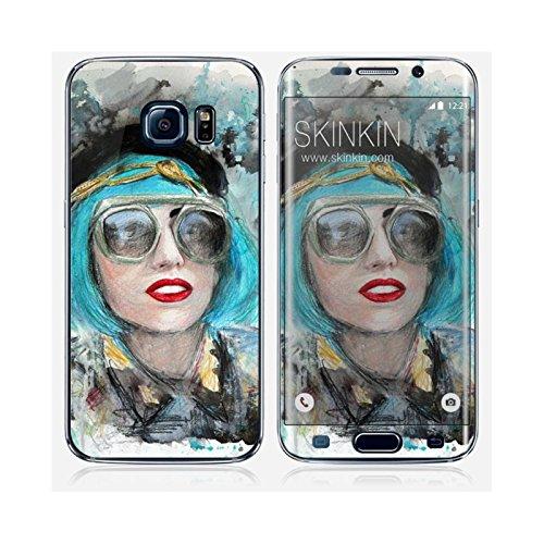 Coque iPhone 6 Plus et 6S Plus de chez Skinkin - Design original : Lady gaga glasses par Denise Esposito Skin Samsung Galaxy S6 Edge
